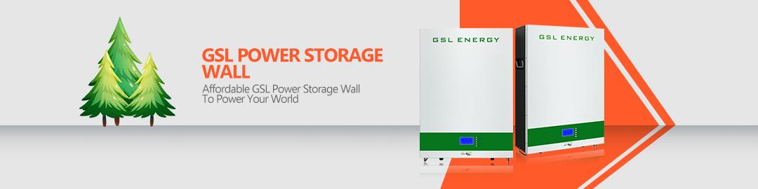 product-Power Storage Wall 3 Lifepo4 10Kwh Lithium Battery Solar Energy Storage System-GSL ENERGY-im