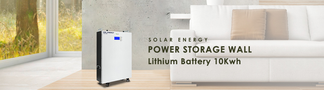 product-GSL ENERGY-5Kw7Kw10Kw LiFePO4 Lithium Battery Pack Solar Panel System Grid Tied Solar Power