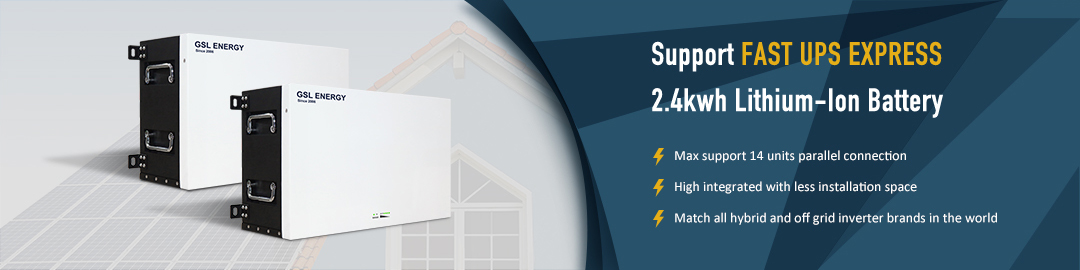 product-GSL ENERGY-GSL ENERGY Power Storage Wall 48v Lithium Ion Battery 24Kwh For Home Energy Stora