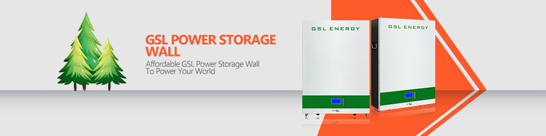 product-GSL ENERGY-Power Storage Wall 2 Wall Mounted Lifepo4 48V 150Ah Battery For Solar Battery Sto