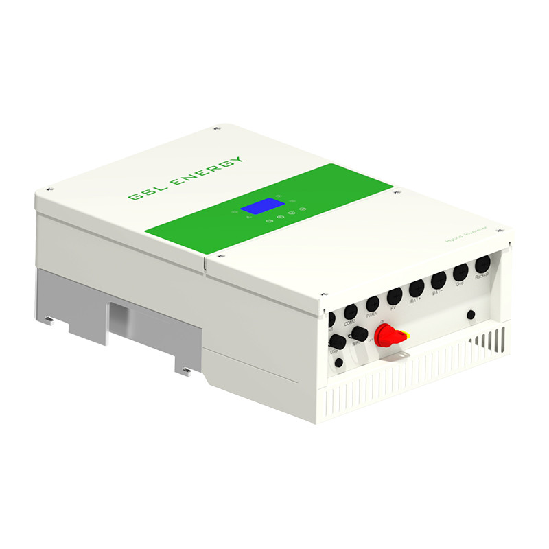 12kw UL approved  240V/120V Hybrid Solar On-Off Grid Inverter with High voltage 80-400VDC