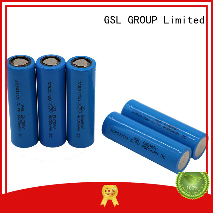 popular 21700 battery cell best price for factory GSL ENERGY