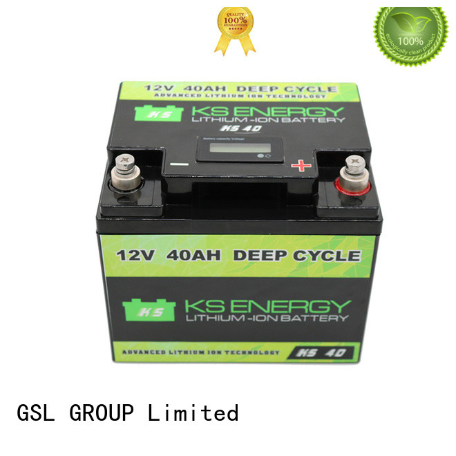 GSL ENERGY 2020 hot-sale lithium battery 12v 100ah free maintainence high performance