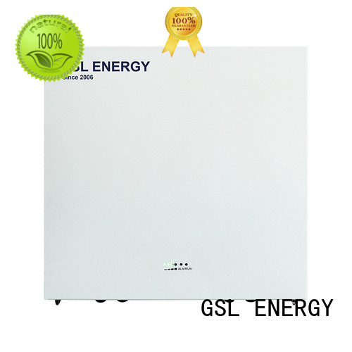 GSL ENERGY Latest powerwall system factory for battery