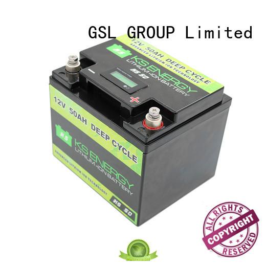 GSL ENERGY solar battery 12v 300ah for camping