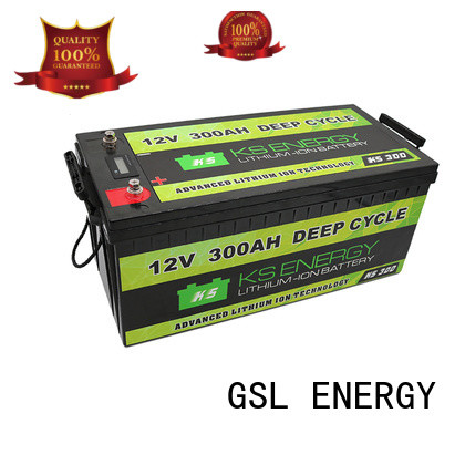 GSL ENERGY 2020 hot-sale 12v 100ah solar battery short time for camping car