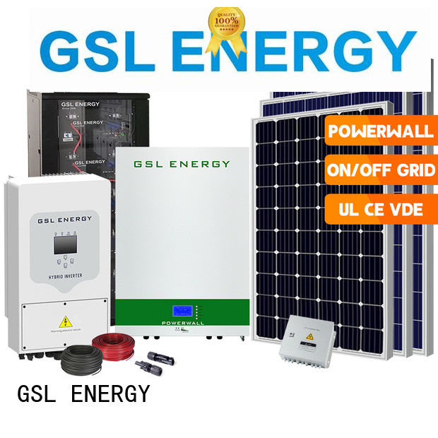 GSL ENERGY factory direct solar energy system for home intelligent control fast delivery
