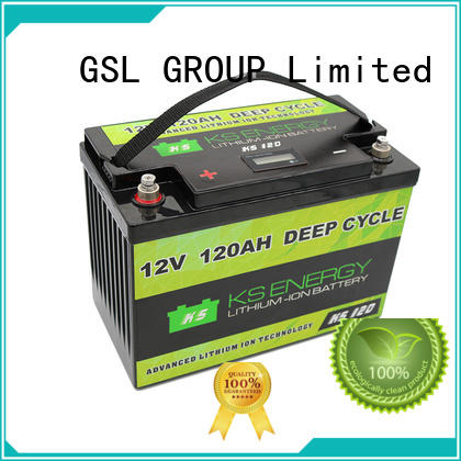 lithium battery 12v 300ah inquire now for car GSL ENERGY