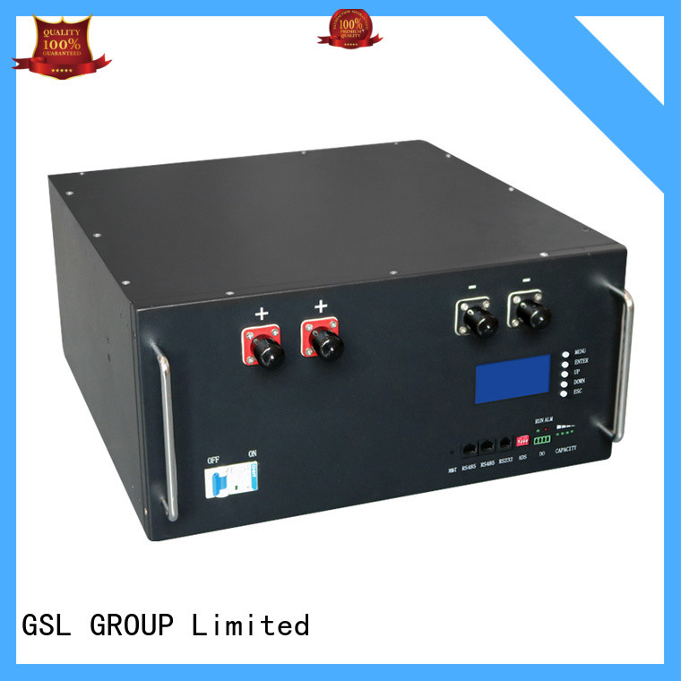 GSL ENERGY hot-sale battery bank in telecom tower free sample for energy storage