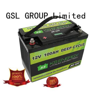 GSL ENERGY solar batteries 12v 200ah customization led display