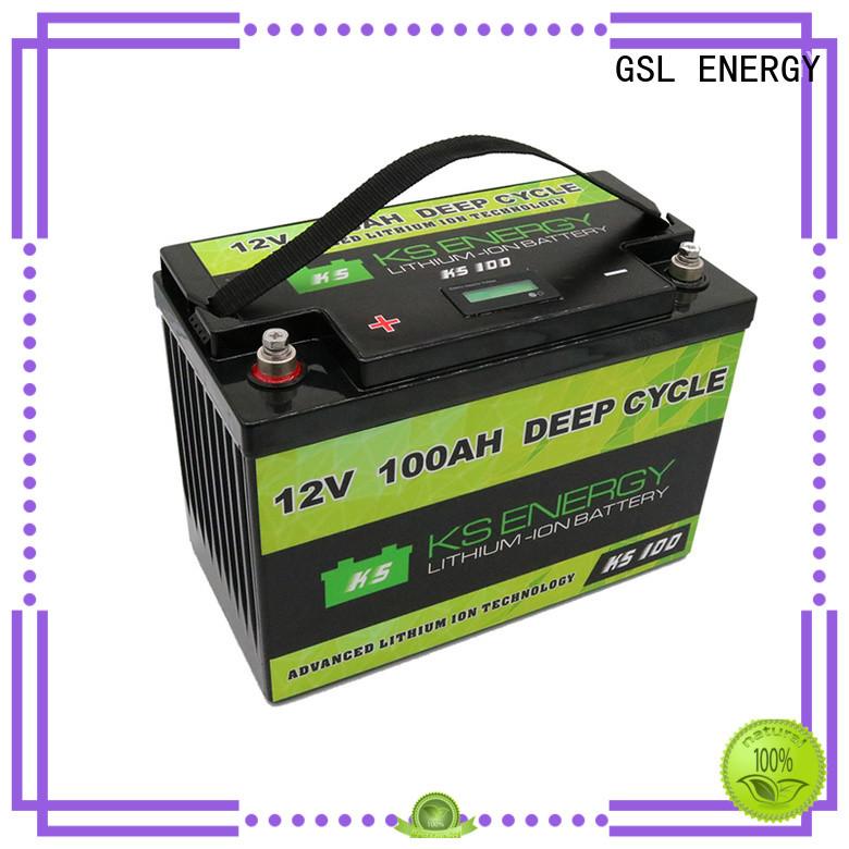12v 20ah lithium battery car more GSL ENERGY Brand company