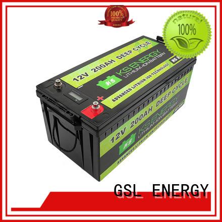 GSL ENERGY Brand ion battery custom 12v 20ah lithium battery