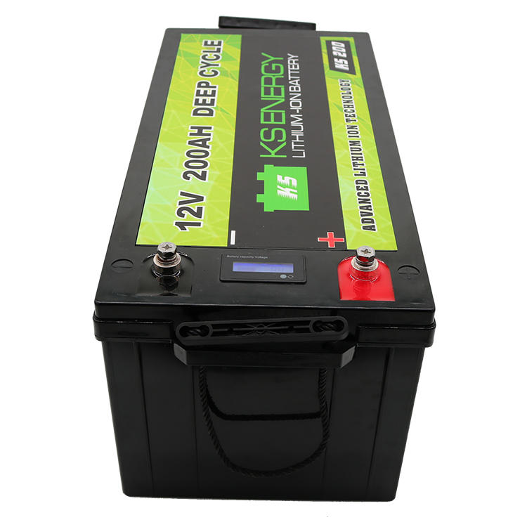 GSL ENERGY-Led Capacity Display 12v 200ah Lithium Iron Phosphate Lifepo4 Battery For-2