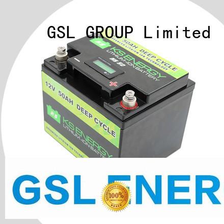 12v 20ah lithium battery more capacity Warranty GSL ENERGY