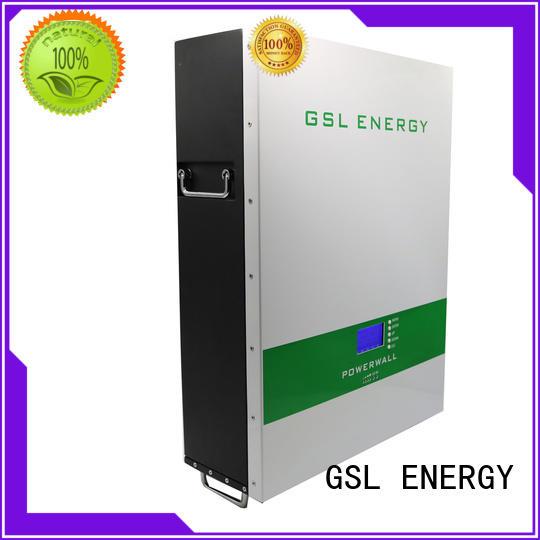 GSL ENERGY energy-saving tesla powerwall at discount for solar storage