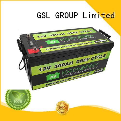 Quality GSL ENERGY Brand 12v 20ah lithium battery lifepo4