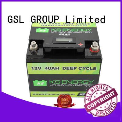 solar Custom car led 12v 50ah lithium battery GSL ENERGY capacity
