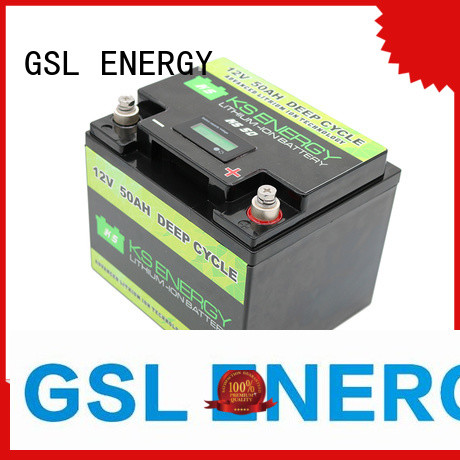 12v 20ah lithium battery llithium cycles Warranty GSL ENERGY