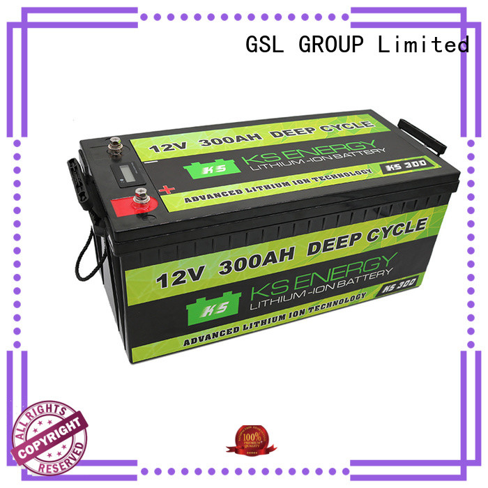 lithium long 12v 50ah lithium battery storage led GSL ENERGY company