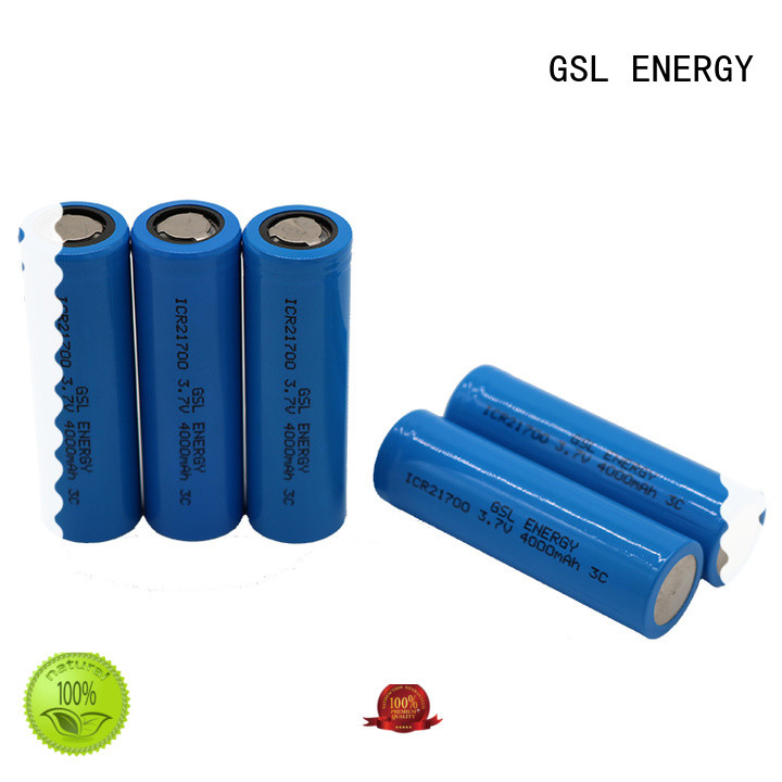 GSL ENERGY rechargeable 21700 lithium battery for school