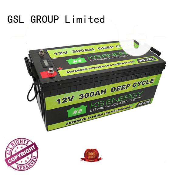 led camping capacity GSL ENERGY Brand 12v 50ah lithium battery supplier