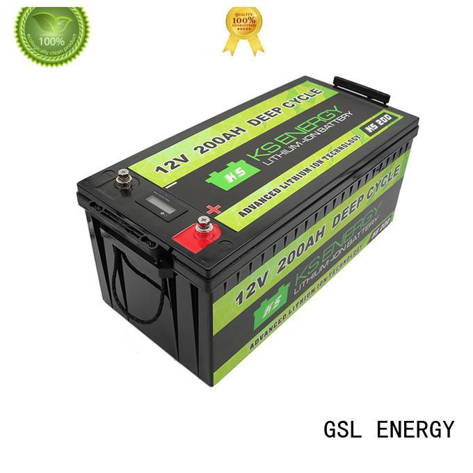 GSL ENERGY solar batteries 12v 200ah free maintainence high performance