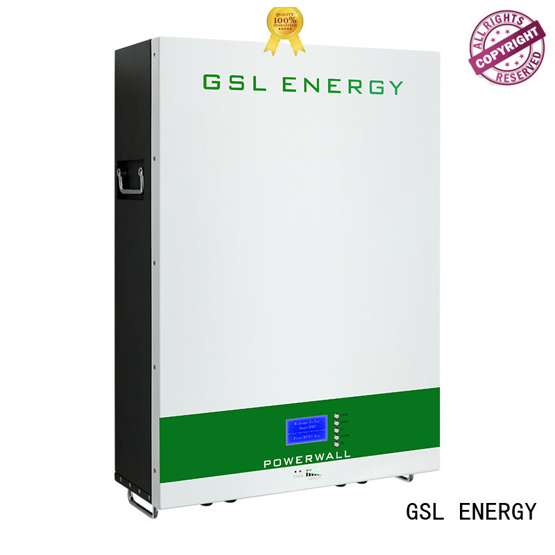 GSL ENERGY powerwall tesla manufacturers