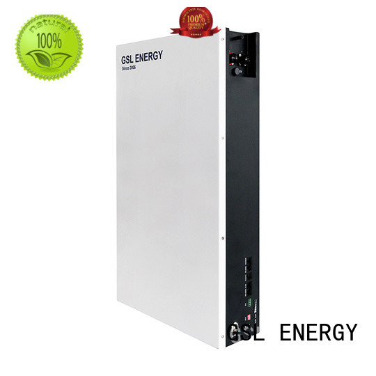 GSL ENERGY solar backup battery fast charged for power dispatch